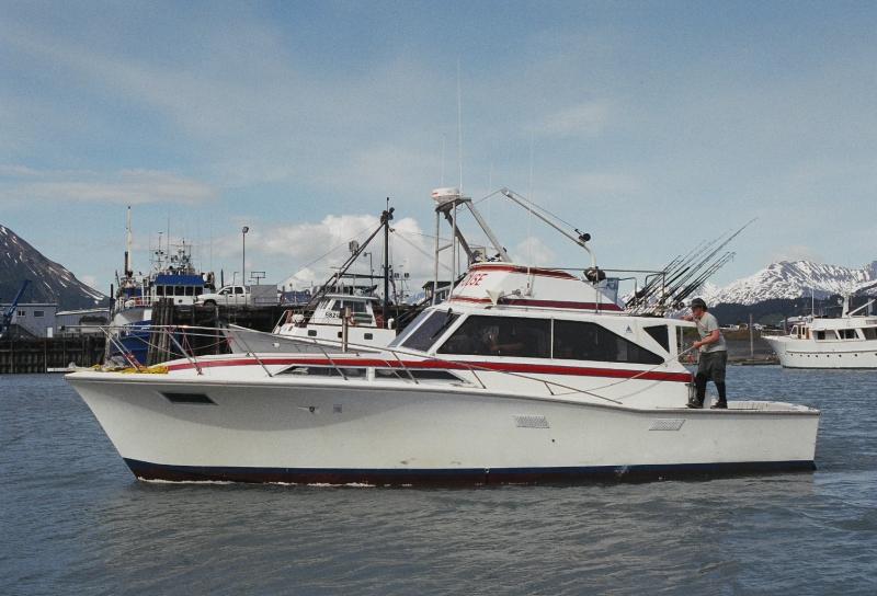 Fishing Charters Ravenquest Cabins Seward Alaska